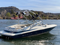 1997 Maxum 2100 SR with Airborne Wakeboard Tower