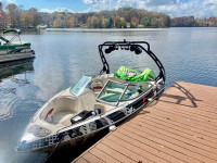 2005 Chaparral 186SSI wakeboard tower