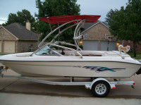 1995 Sea Ray 195 Bowrider I/O with Airborne Wakeboard Tower