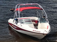 2004 Rinker 212 with Airborne Wakeboard Tower