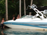 2008 Nauticstar 232DC with FreeRide Wakeboard Tower