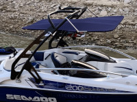 2007 Seadoo Speedster 200 wakeboard tower and bimini