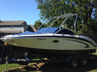 2010 Chaparral 224 Sunesta with Airborne Wakeboard Tower