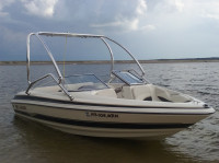 2004 Larson 190 SEi with Airborne Wakeboard Tower