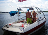 2004 Stingray 190LS with Airborne Wakeboard Tower