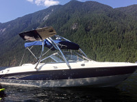2008 Bayliner 185 with Ascent Wakeboard Tower